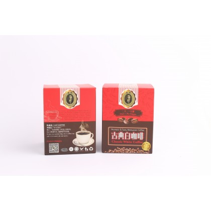 Cheong Fatt Classic White Coffee Aromatic & Tasty Malaysian Coffee 2 in 1 No Sugar 古典白咖啡(无糖)